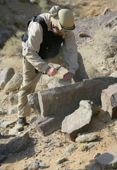 geologas vandens greziniai